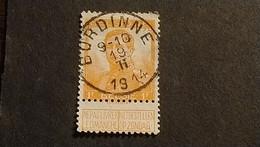 """N 116  Afst./Obl.  """" BURDINNE """" - 1912 Pellens"""