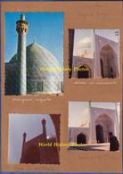 7 Photos Anciennes + 1 Carte Postale Vers 1960 1970 - ISPAHAN ( Iran ) - Mosquée Royale - Architecture Perse - Plaatsen