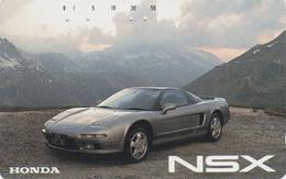 Télécarte JAPON / 110-011- VOITURE - HONDA NSX - CAR JAPAN Phonecard - AUTO TK - 3526 - Cars