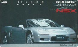 Tlécarte  Ancienne JAPON / 110-011 - VOITURE - HONDA NSX - CAR JAPAN Phonecard - AUTO TK - 3527 - Cars