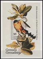 Grenada - 1985 ☀ Fauna - Birds / Mi-No. Block 90 ☀ Mint Never Hinged (**) - Pájaros Cantores (Passeri)