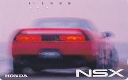 Tlécarte  Ancienne JAPON / 110-011 - VOITURE - HONDA NSX - CAR JAPAN Phonecard - AUTO TK - 3528 - Cars