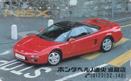Tlécarte JAPON / 430-4434 - VOITURE - HONDA NSX - CAR JAPAN Free Phonecard - AUTO TK - 3530 - Cars