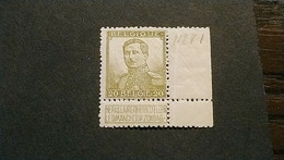 N 112 Ongestempeld Variëteit V 1 - 1912 Pellens
