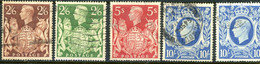 Great Britain USED 1939-42 - Used Stamps