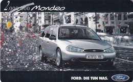 GERMANY(chip) - Ford Mondeo(O 798), Tirage 11600, 09/98, Used - Cars
