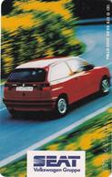 GERMANY(chip) - Seat Ibiza(O 378), Tirage 3000, 03/95, Used - Cars