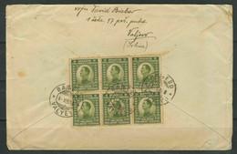Yugoslavia 1921 ☀ Old Cover Serbia - Warrenton College USA - Postal History