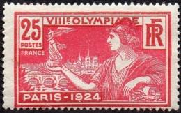 France - N°  184 * 8ème Olympiade Paris 1924 - Femme Tenant Une Victoire - Unused Stamps