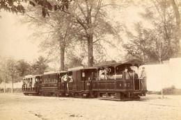 Reproduction Photo Train St Germain En Laye 14oc - Eisenbahnen