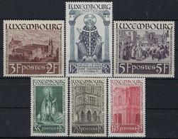 Luxembourg - Luxemburg - Timbres  1938  Saint Willibrord , Echternach  MNH**  VC 75,- - Neufs