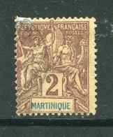 MARTINIQUE- Y&T N°32- Oblitéré - Gebraucht