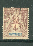 MARTINIQUE- Y&T N°33- Oblitéré - Gebraucht