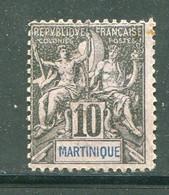 MARTINIQUE- Y&T N°35- Oblitéré - Gebraucht