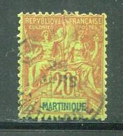 MARTINIQUE- Y&T N°37- Oblitéré - Gebraucht