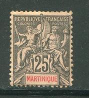 MARTINIQUE- Y&T N°38- Neuf Avec Charnière * - Ungebraucht