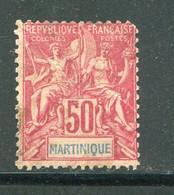 MARTINIQUE- Y&T N°41- Oblitéré - Gebraucht