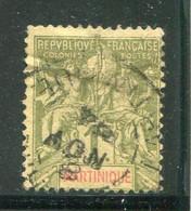 MARTINIQUE- Y&T N°43- Oblitéré - Gebraucht