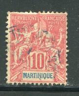 MARTINIQUE- Y&T N°45- Oblitéré - Gebraucht