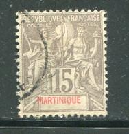 MARTINIQUE- Y&T N°46- Oblitéré - Gebraucht