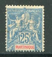 MARTINIQUE- Y&T N°47- Neuf Avec Charnière * - Ungebraucht