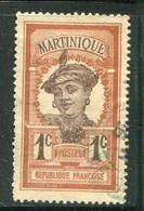 MARTINIQUE- Y&T N°61- Oblitéré - Gebraucht
