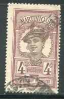 MARTINIQUE- Y&T N°63- Oblitéré - Gebraucht