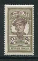 MARTINIQUE- Y&T N°62- Neuf Avec Charnière * - Ungebraucht