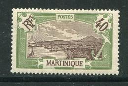 MARTINIQUE- Y&T N°71- Neuf Avec Charnière * - Ungebraucht