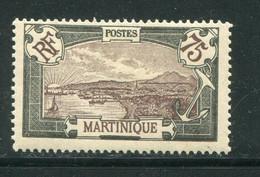 MARTINIQUE- Y&T N°74- Neuf Avec Charnière * - Ungebraucht