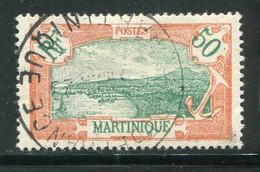 MARTINIQUE- Y&T N°73- Oblitéré - Gebraucht