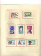 Gilbert  Et Elice  (1971) -   Elizabeth II -   Noel - Nouvelles Constitution - UNICEF -  Neufs* MLH - Gilbert & Ellice Islands (...-1979)