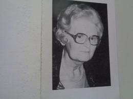 Doodsprentje/Bidprentje  Lizzey Van Iseghem   Ostende 1907-1988  (Vve Raoul Halewyck)  2-talig / Bilingue - Godsdienst & Esoterisme