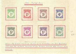 Gilbert  Et Elice  (1941) -   Elizabeth II -  Timbres-taxe   -  Neufs* MLH - Gilbert & Ellice Islands (...-1979)