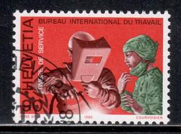 Switzerland 1988 BIT / ILO Mi# 109 Used - People And Work (III) - Dienstpost