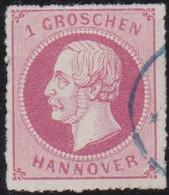Hannover    .    Michel   .    23y       .  O       .     Gestempelt - Hannover