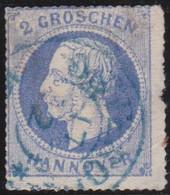 Hannover    .    Michel   .    24y  (2 Scans)       .  O       .     Gestempelt - Hannover