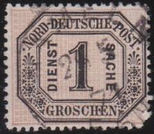 Nord     .    Michel     .  Dienst  4       .    O       .     Gestempelt - Norddeutscher Postbezirk