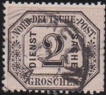 Nord     .    Michel     .  Dienst  5       .    O       .     Gestempelt - Norddeutscher Postbezirk