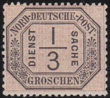 Nord     .    Michel     .  Dienst  2      .    *       .    Ungebraucht Mit Gummi - Norddeutscher Postbezirk