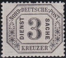 Nord     .    Michel     .  Dienst  8     .   (*)       .    Ohne  Gummi - Norddeutscher Postbezirk