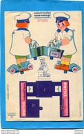 Publicité-savon -SILINO - Carton Souple AUTO-pré Découpée à Construire - Non Classificati