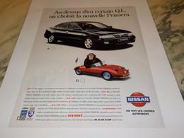 ANCIENNE PUBLICITE NOUVELLE PRIMERA DE   NISSAN  1997 - Cars