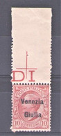 VENEZIA GIULIA 1918 10 C. ** MNH - Venezia Giulia