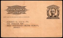 Cuba - Circa 1960 - Lettre - Envoyé En Brasil - Covers & Documents