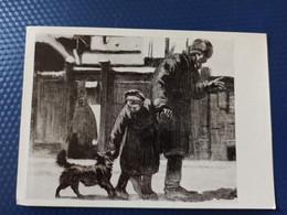 KASHTANKA - By Chekhov - Trained Dog - OLD USSR PC 1959 - Chiens