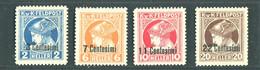 OCCUPAZIONE AUSTRIACA  1918 GIORNALI D'AUSTRIA-UNGHERIA ** MNH - Austrian Occupation