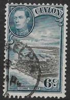 Ceylon 1938. Scott #280 (U) Colombo Harbor - Ceylon (...-1947)