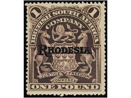 RHODESIA - Nigeria (...-1960)