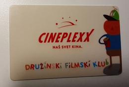 Cineplexx Cinema Movie Fammily Gift  Member  Card Slovenia - Gift Cards